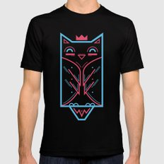 Hoo! Black SMALL Mens Fitted Tee