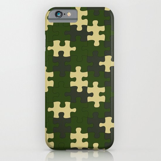 chameleon puzzle iPhone & iPod Case