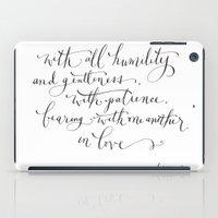 Bearing in Love iPad Case