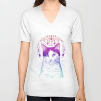 Of cats and insects Unisex V-Neck
