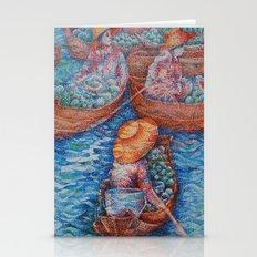 Floating Market 2 Stationery Cards