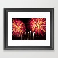 Efflorescence 35 Framed Art Print