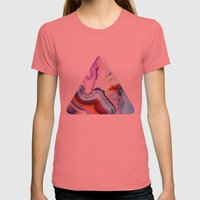 Agate, A Vivid Metamorph… Womens Fitted Tee Pomegranate SMALL