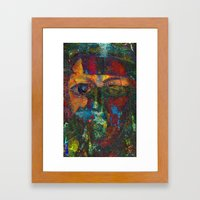Face#4 Framed Art Print