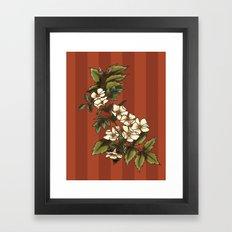 Vintage Flower (3) Framed Art Print