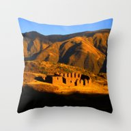 Throw Pillow featuring Fin Del Dia by Ken Seligson