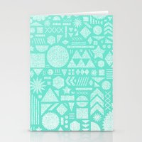 Modern Elements With Tur… Stationery Cards