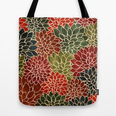 Floral Abstract 7 Tote Bag