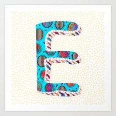 E ii (Coffee Series) Art Print