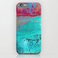 iPhone & iPod Case featuring Turquoise Ocean by Angela Burman