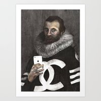Thoſe who gave thee a body furniſhed it with weakneſs Art Print
