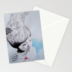 Hidden trees Stationery Cards