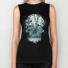 Dark Forest Skull Biker Tank