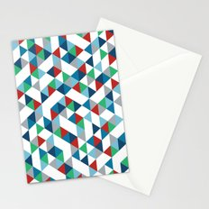 Triangles #3 Stationery Cards