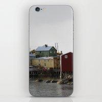 Nyksund, Lofoten iPhone & iPod Skin