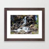 Roaring Falls Framed Art Print