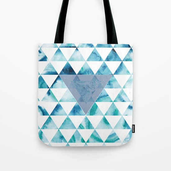 Triangle Sky Tote Bag