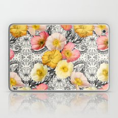 Collage of Poppies and Pattern Laptop & iPad Skin