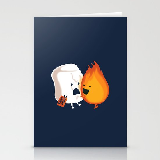 Friendly Fire Stationery Card