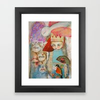 Your Story Matter - Girl… Framed Art Print