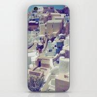Oia, Santorini, Greece iPhone & iPod Skin