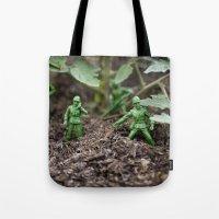Army Dudes Tote Bag