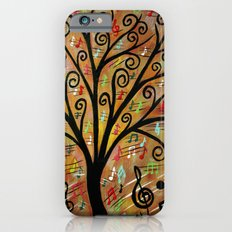 Abstract tree-12  Slim Case iPhone 6s