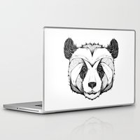 panda Laptop & iPad Skins featuring Panda by Andreas Preis