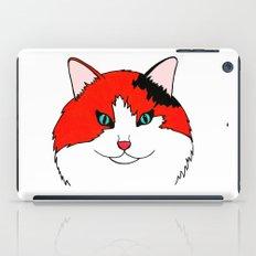 Orange Fluff - Calico Cat iPad Case