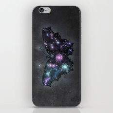Cosmic Butterfly iPhone & iPod Skin