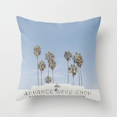 York BLVD | Highland Park | Los Angeles Throw Pillow