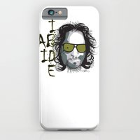 iPhone & iPod Case featuring The Dude - Big Lebowski INK by Urban Punk - Matt Skelnik