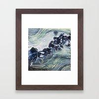 Gauley River Blues Framed Art Print