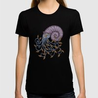 Nautilus Womens Fitted Tee Black SMALL