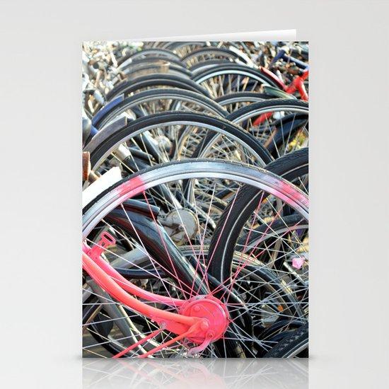 Wheels Stationery Card