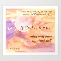 If God Is For Us Art Print