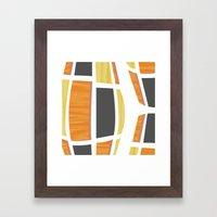 MCM Bongo Framed Art Print