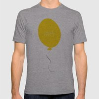 Happy Mens Fitted Tee Athletic Grey SMALL