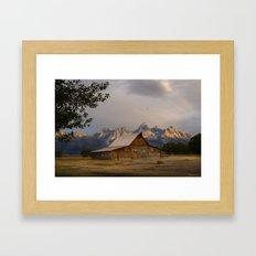 Grand Teton National Park - Mormon Row Moulton Barn Framed Art Print