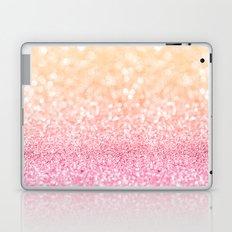 Pink and Orange Glitter Laptop & iPad Skin