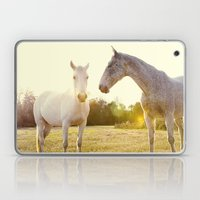 Two Horses Fine Art Phot… Laptop & iPad Skin