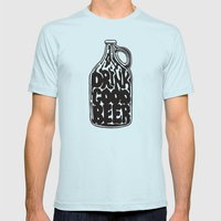 Drink Good Beer Mens Fitted Tee Light Blue SMALL