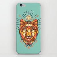 Geometric Wolf iPhone & iPod Skin