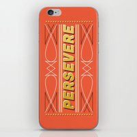 Persevere iPhone & iPod Skin