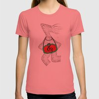 Sing The Song Of Unity, … Womens Fitted Tee Pomegranate SMALL