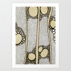 Inside Black Locust Art Print
