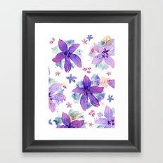 Flower bared Framed Art Print