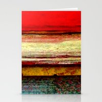 Sunset in Bali Stationery Cards
