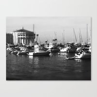 Catalina Harbor Canvas Print
