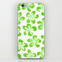 Posey Power - Electric Lime Multi iPhone & iPod Skin